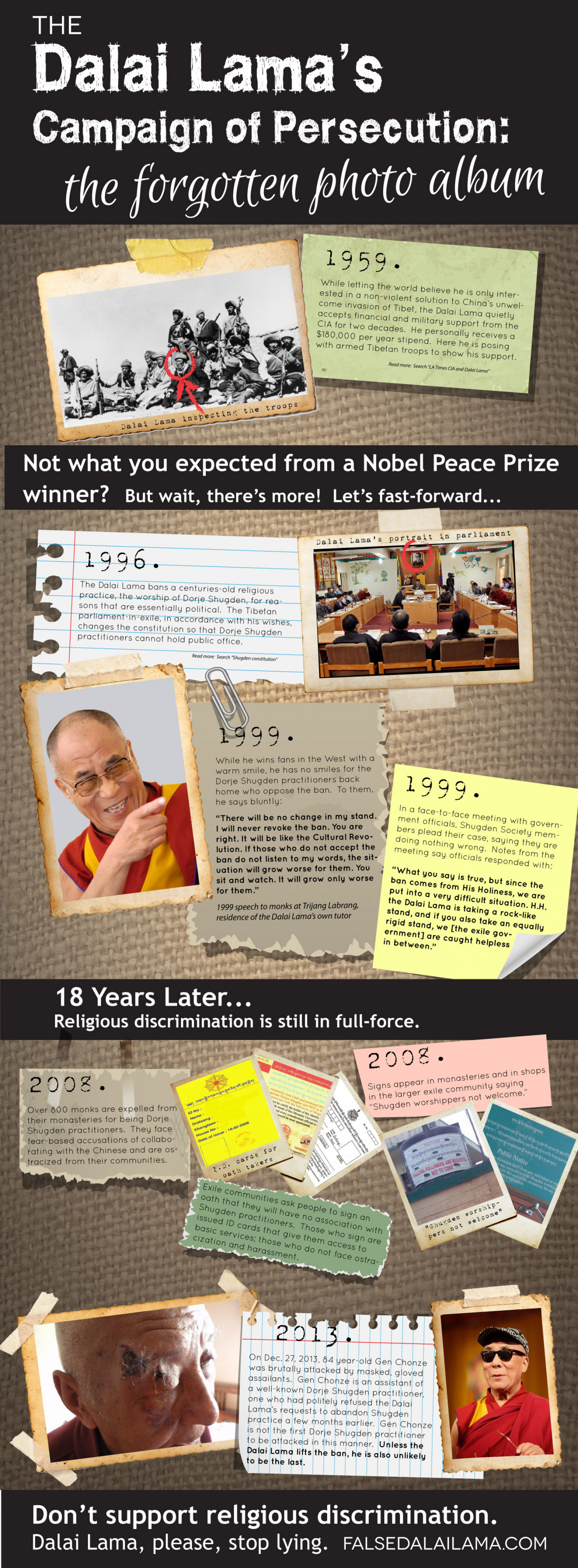 Who is the Dalai Lama, Really? Infographic