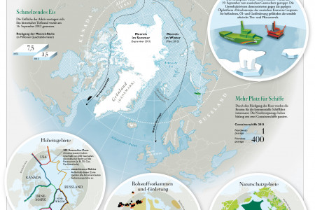 Who Owns Arctica? Infographic