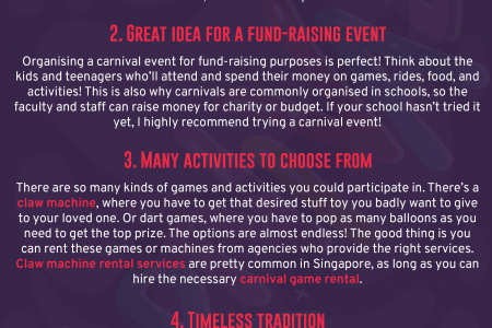 Why a Carnival Is Perfect for an Event Infographic