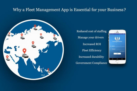 Why a Fleet Management App is Essential for your Business? Infographic