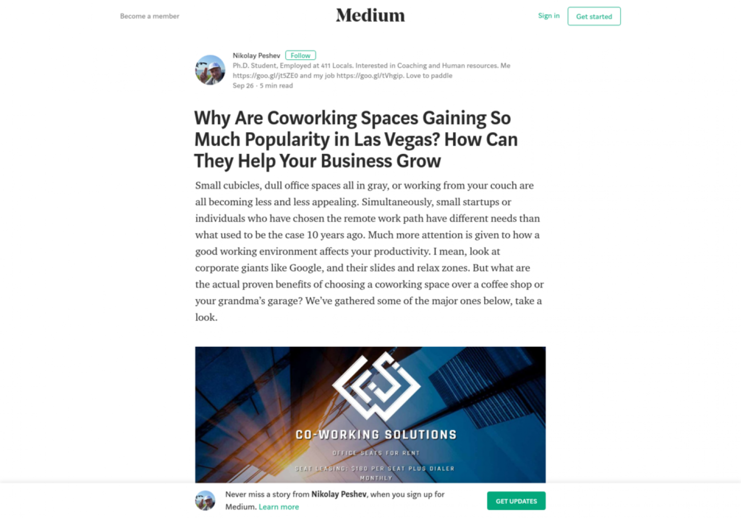 Why Are Coworking Spaces Gaining So Much Popularity in Las Vegas? How Can They Help Your Business Grow Infographic