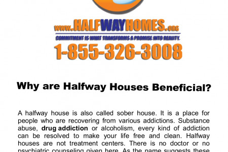 Why are Halfway Houses Beneficial? Infographic