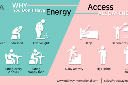Why Are You Always Tired: How to Have All Day Energy Infographic