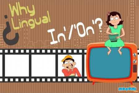Why are you 'In' a movie but 'On' a television? Infographic