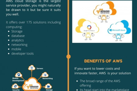 Why AWS(Amazon Web Services) and the Benefits - Infographic Infographic