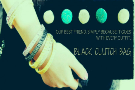 Why Black Clutches Our best friend, Simply Because It Goes With Every Outfit. Infographic