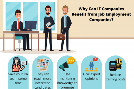 Why Can IT Companies Benefit from Job Employment Companies? Infographic