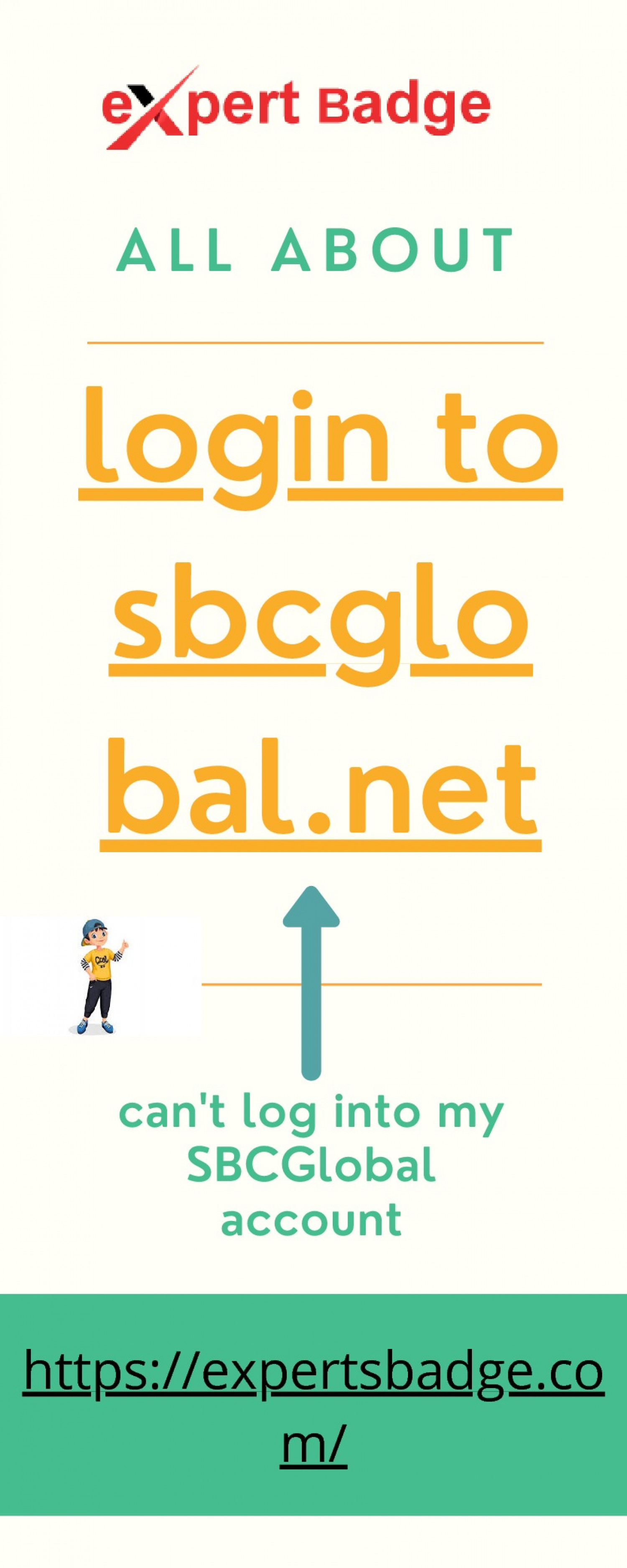 Why can't log into my SBCGlobal account? Infographic