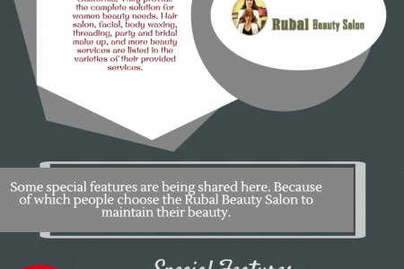 Why Choose Rubal Beauty Salon? Infographic