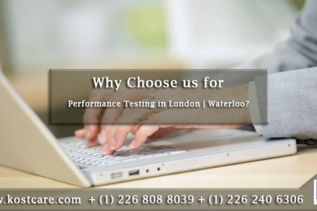 Why Choose us for Performance Testing in London | Waterloo? Infographic
