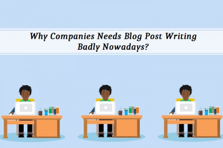 Why Companies Needs Blog Post Writing Badly Nowadays?  Infographic