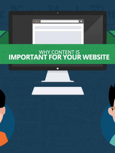 Why Content Is Important For Your Website Infographic