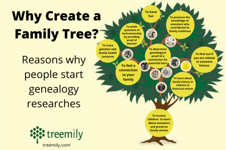 Why Create a Family Tree? Infographic