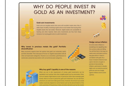 Why do People opt for Gold Investments? Infographic