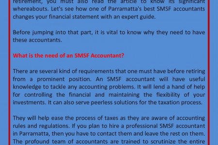 Why Do You Need An SMSF Accountant?  Infographic