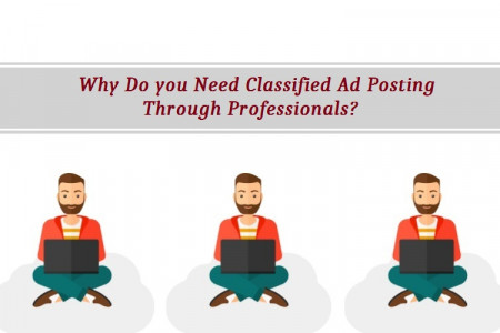 Why Do you Need Classified Ad Posting through Professionals?  Infographic