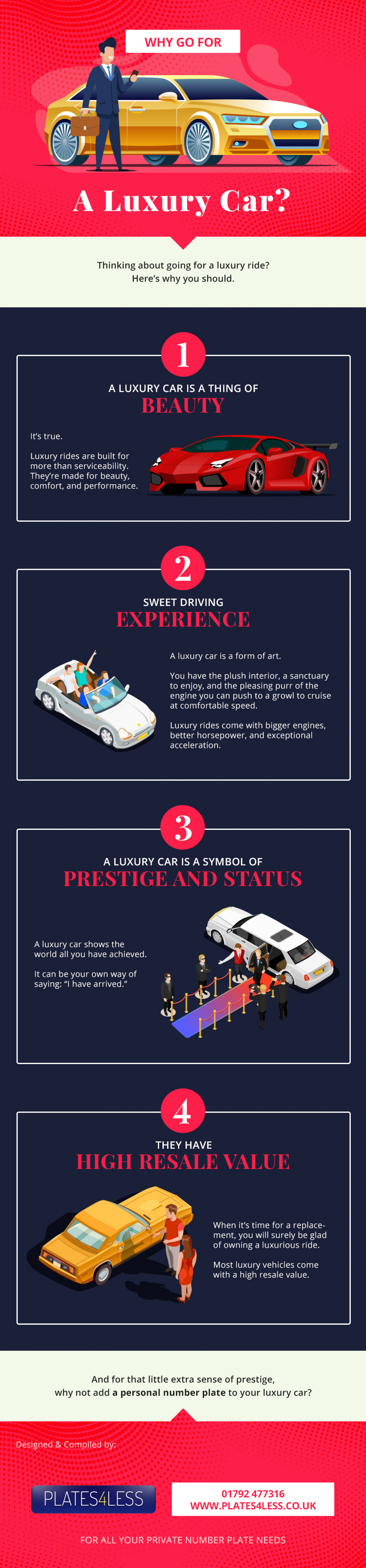 Why Go For A Luxury Car Infographic
