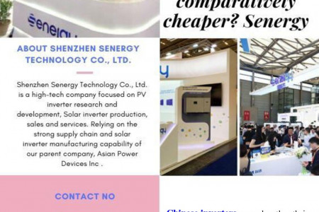 Why is China Inverters comparatively cheaper? – Senergy Technology Infographic