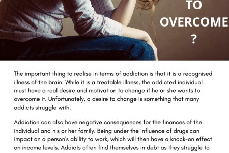WHY IS DRUG ADDICTION SO HARD TO OVERCOME? Infographic