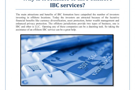 Why is it sensible to hire offshore ibc services Infographic