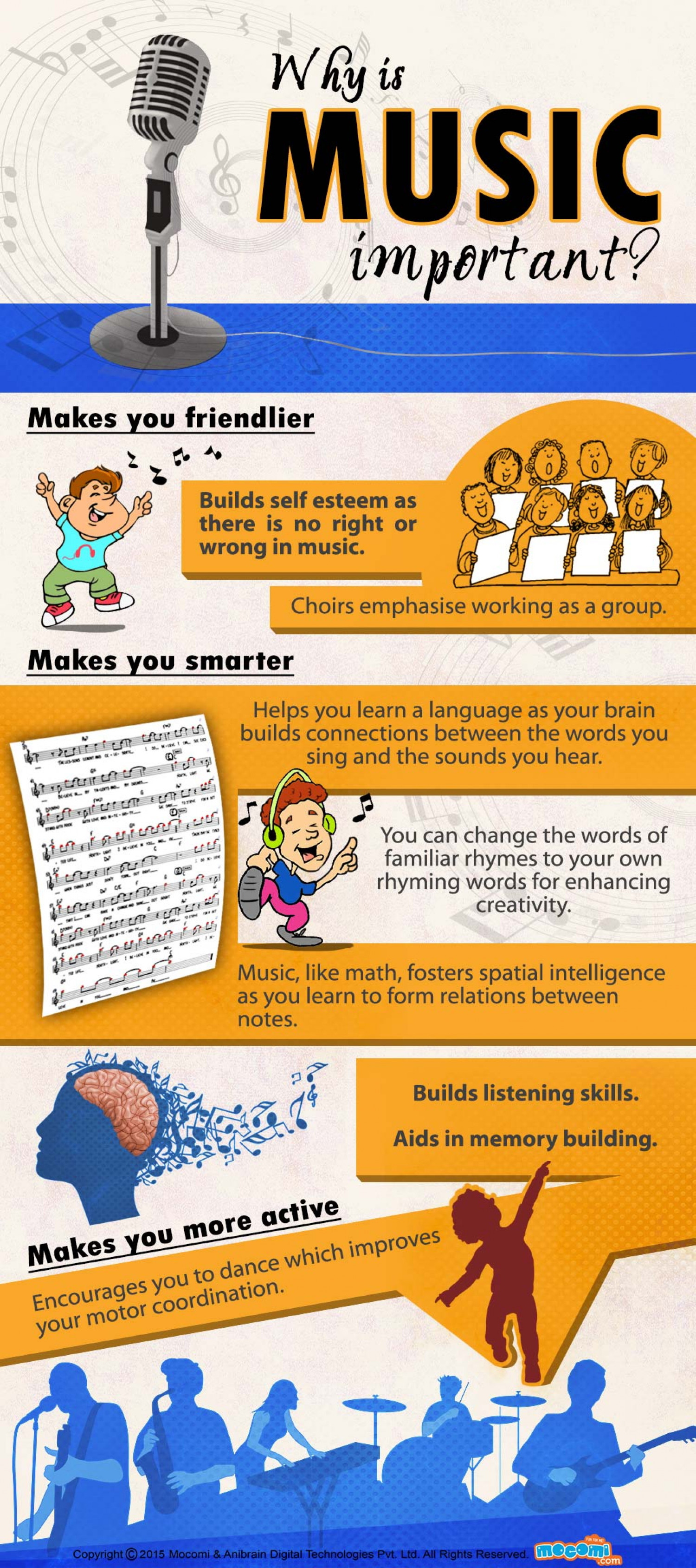 Why is Music Important? Infographic