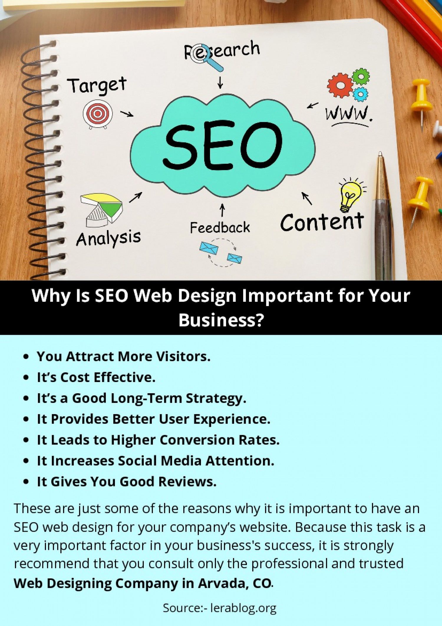 Why Is SEO Web Design Important for Your Business? Infographic