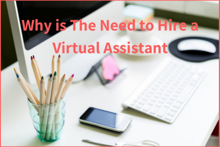 Why is The Need to Hire a Virtual Assistant Infographic