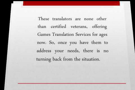 Why Is There A Growing Hike Among People For Games Translation Services? Infographic