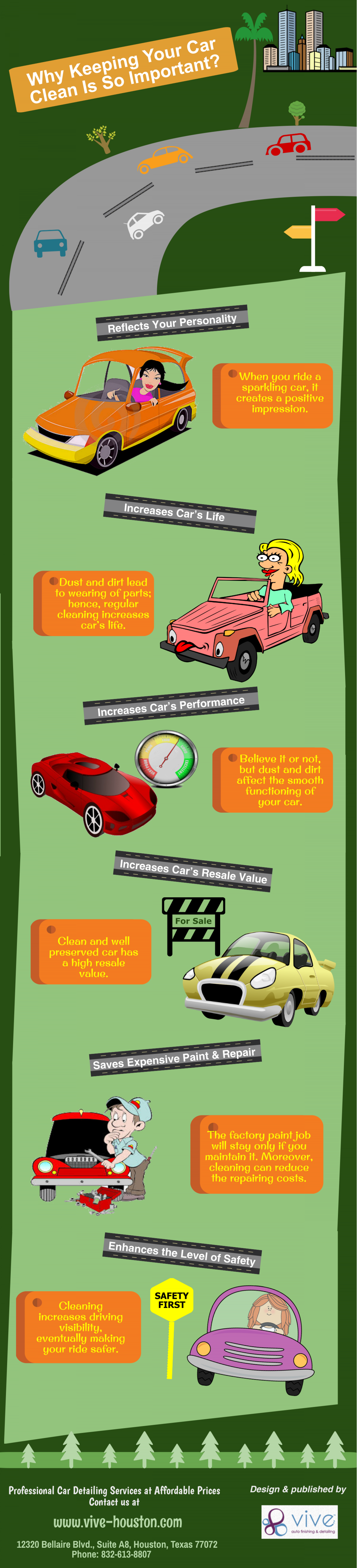 Why Keeping Your Car Clean is so important? Infographic