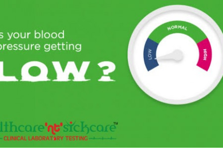 Why Low Blood Pressure Occur? Blood Pressure Chart Infographic