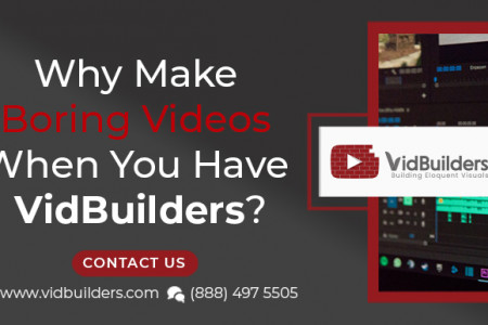 Why Make Boring Videos When You Have VidBuilders? Infographic