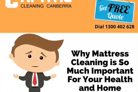 Why Mattress Cleaning is so much Important for your health and home?  Infographic