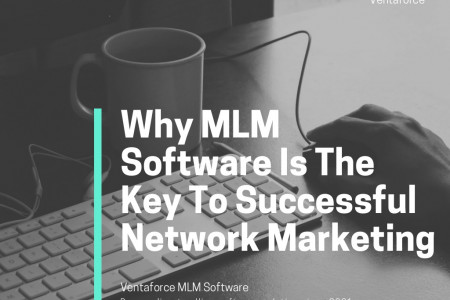 Why MLM Software i s The Key To Successfull Network Marketing  Infographic