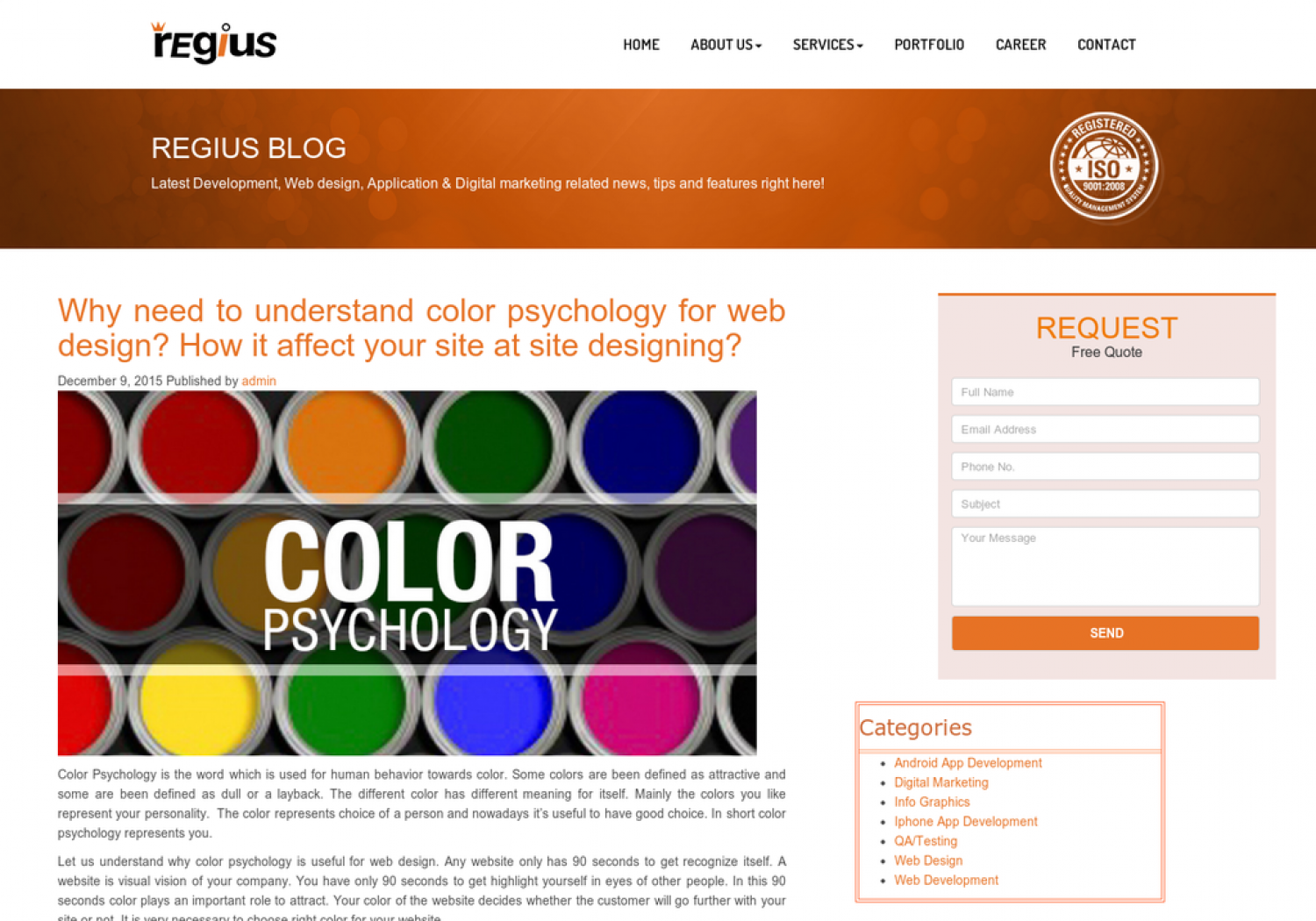 Colors web design psychology - Why Need To Understand Color Psychology For Web Design How It Affect Your Site At