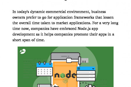 Why Node.js is the Best Framework? Infographic