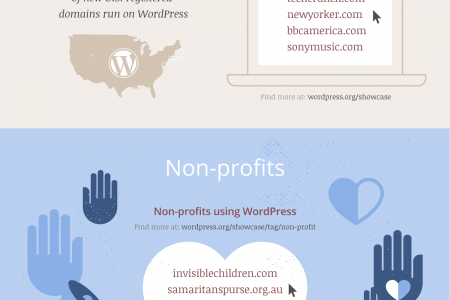 Why Non-profits Choose WordPress Infographic