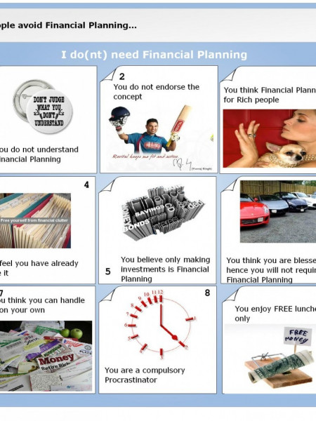 Why People Avoid Financial Planning Infographic