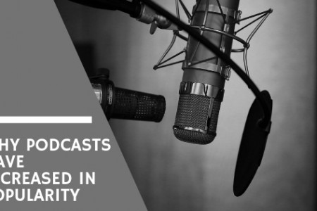 Why Podcasts Have Increased in Popularity - Lisa Laporte Infographic