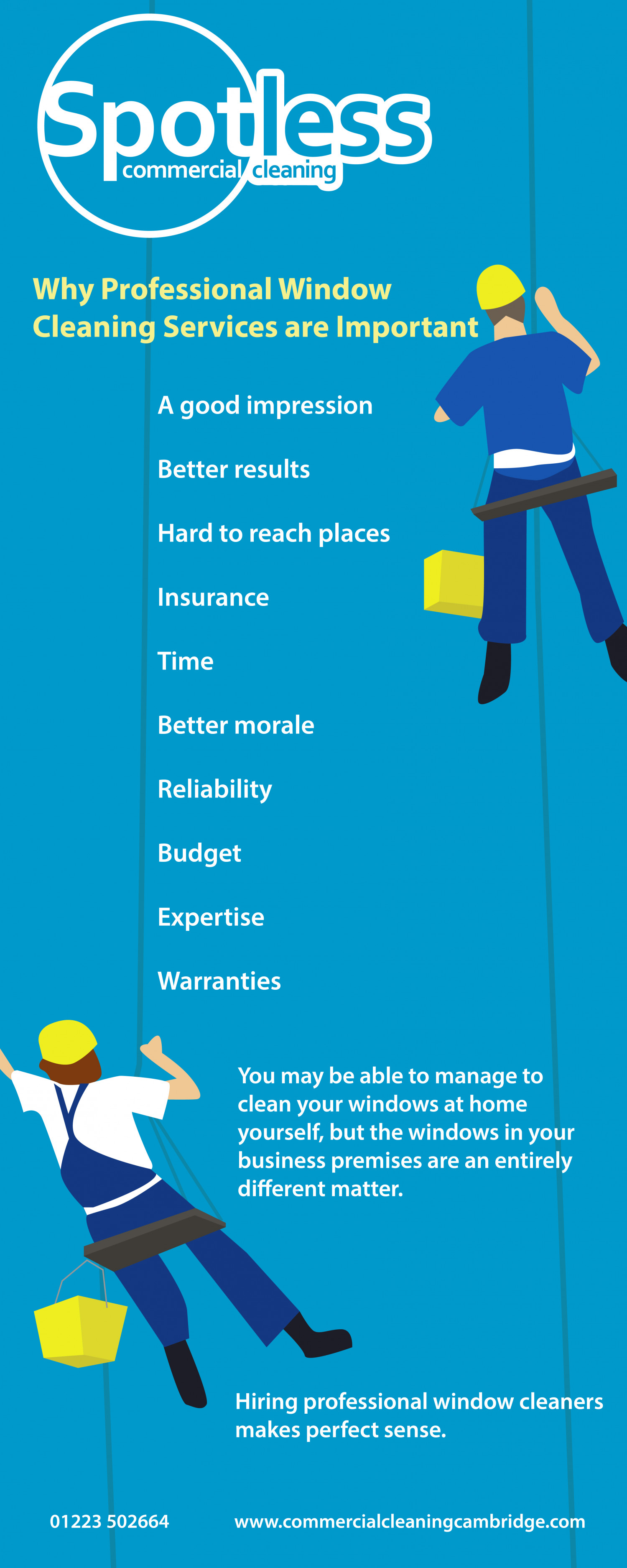 Why Professional Window Cleaning Services are Important Infographic