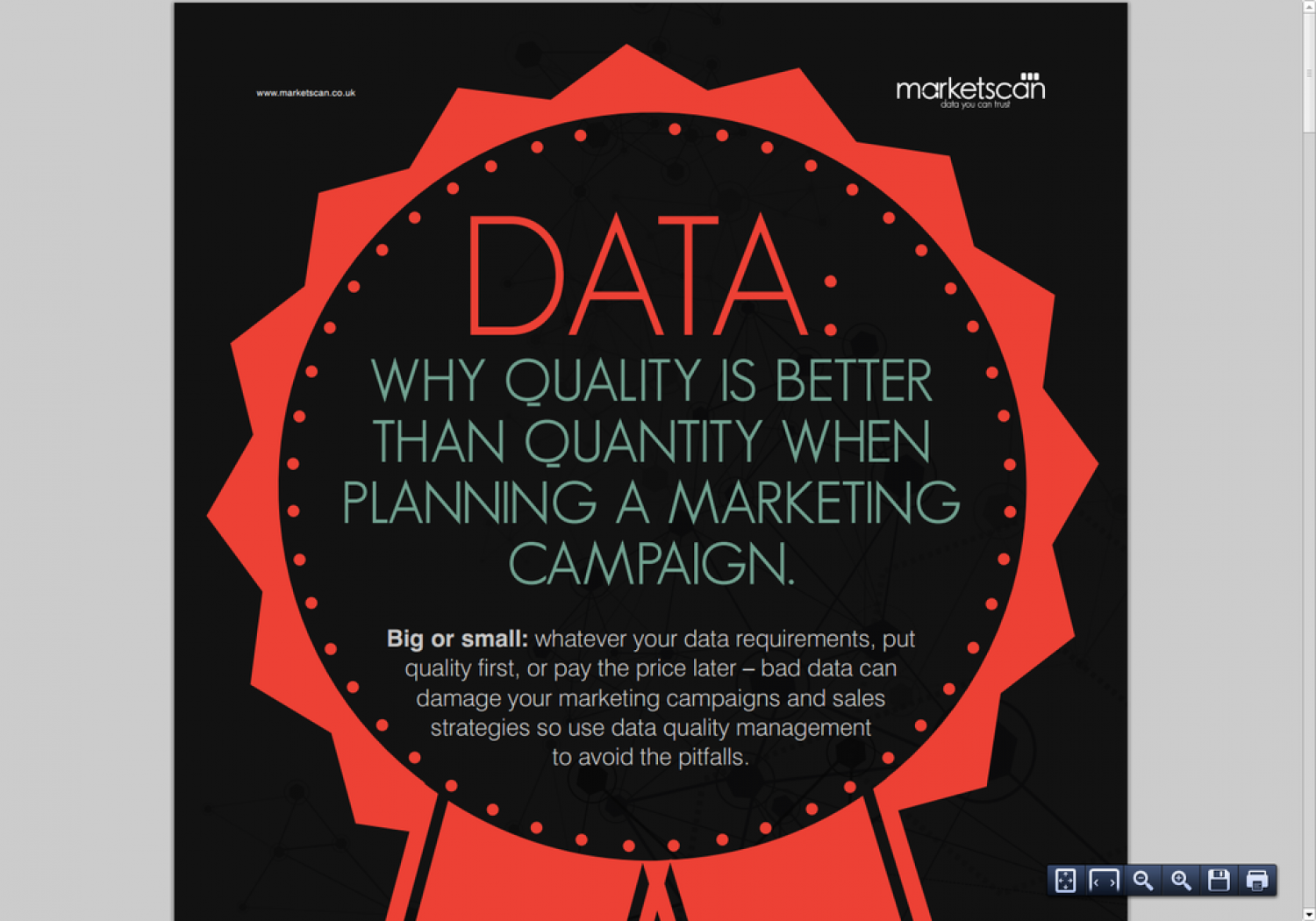 Why Quality is Better Than Quantity When Planning a Marketing Campaign Infographic