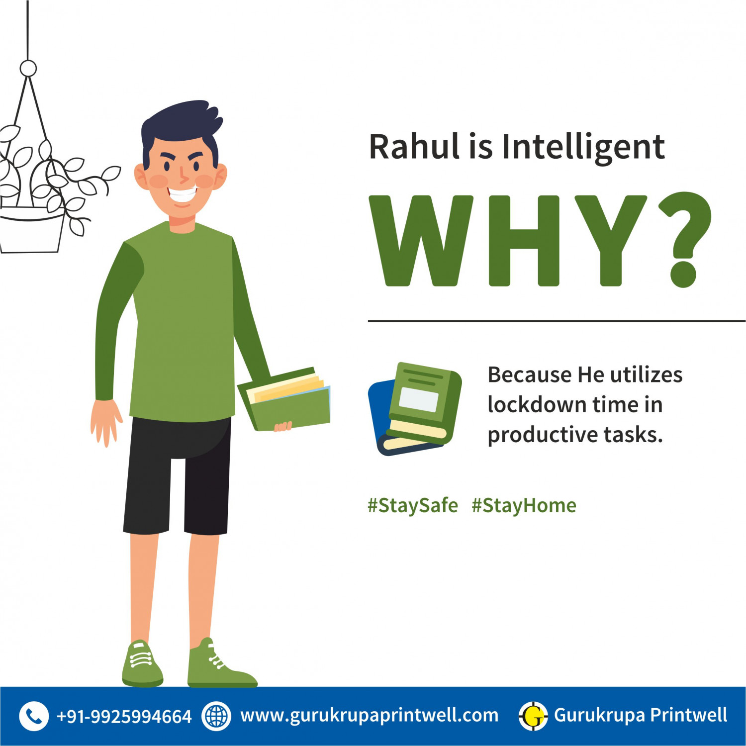 Why Rahul is Intelligent? Infographic