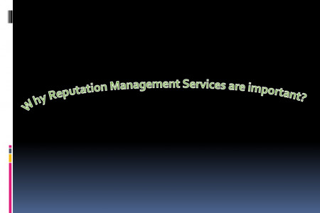 Why Reputation Management Services are important? Infographic
