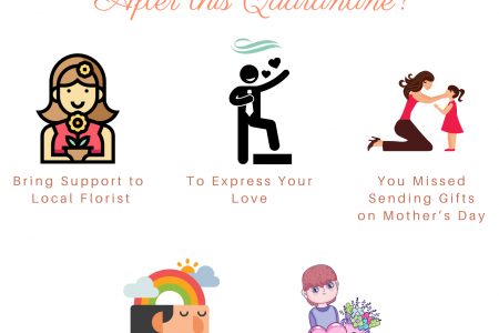 Why Send Flowers After this Quarantine? Infographic