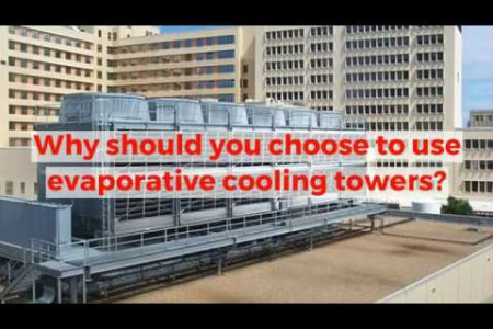 Why should you choose to use evaporative cooling towers? Infographic