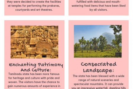 Why Tamilnadu State Should Be On Your Bucket List? Infographic