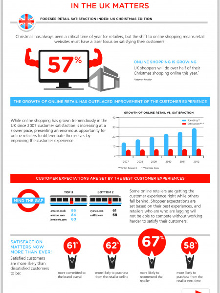 Why the Online Customer Experience in the UK Matters Infographic