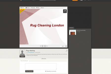 Why to choose rug cleaning services? Infographic
