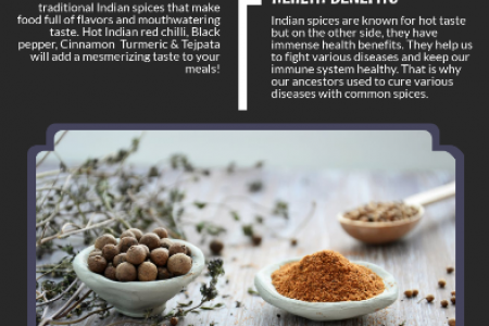 Why Traditional Indian Spices? Infographic