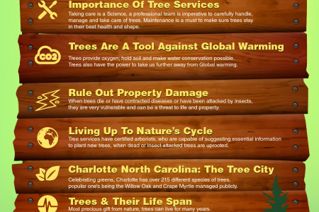 WHY TREE SERVICES ARE IMPORTANT Infographic