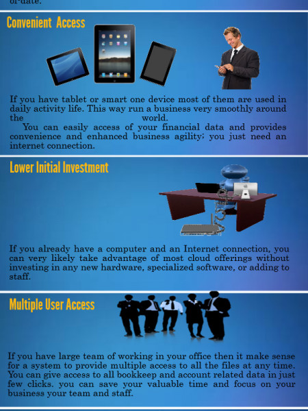 Why use cloud accounting software? Infographic